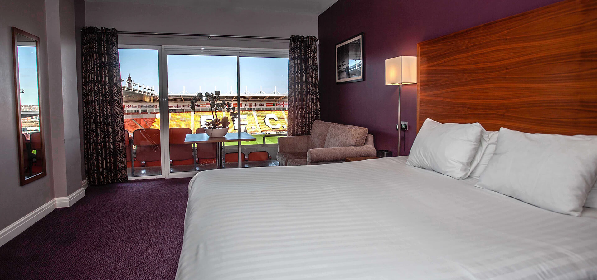 We offer a range of superior accommodation